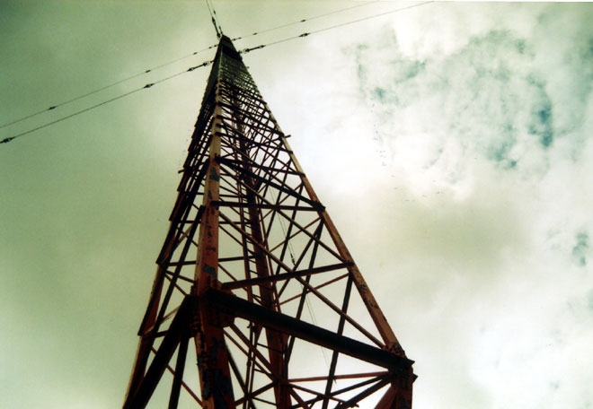 WGY transmitting tower, Schenectady, NY