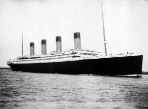 RMS Titanic, April 10, 1912
