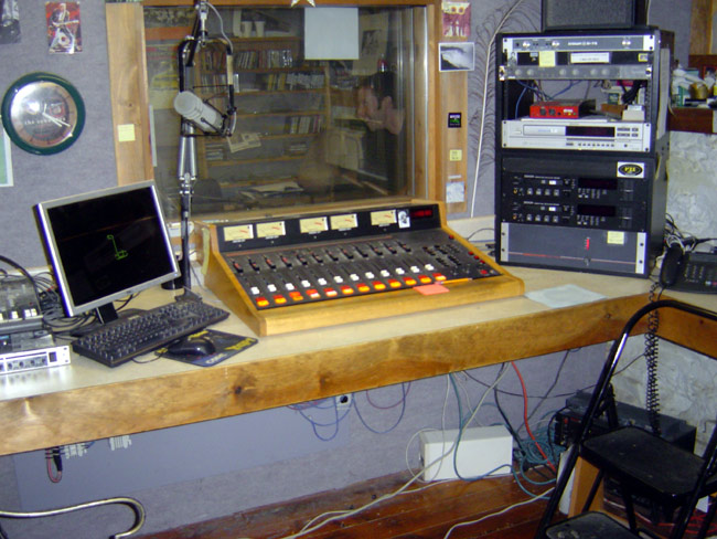 The old WKZE studio