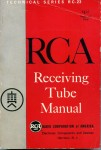 RCA receiving tube manual, 1964 edition