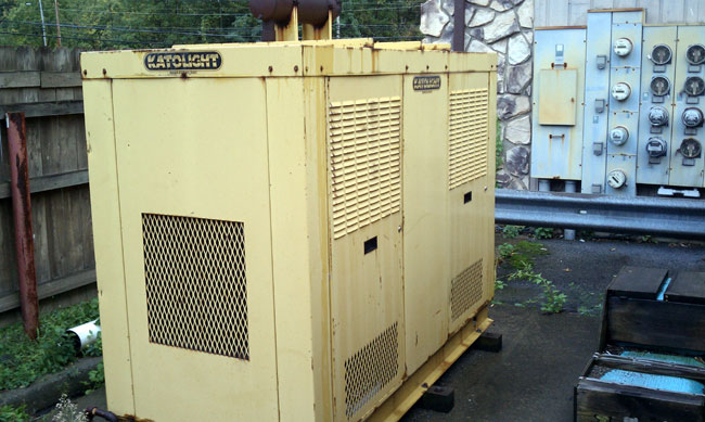 Katolight 45 KW generator w/outside housing