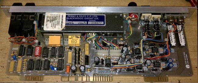 PRE BNXII line input module