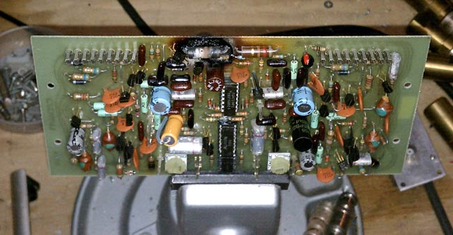 Crown D75 audio board burned open resistor
