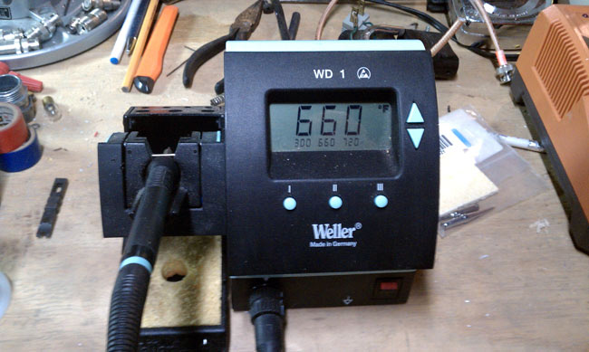 Weller WD1 temperature controlled soldering station