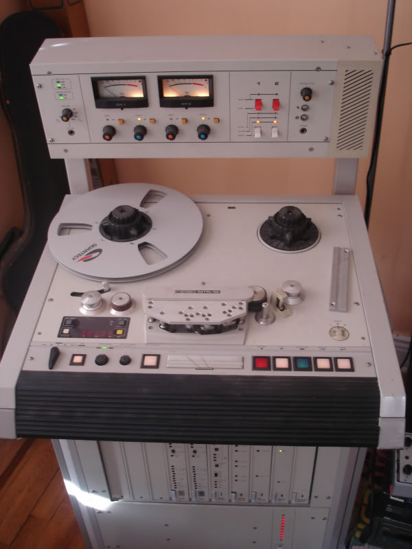 Otari MTR10 1/4 inch 2 track reel to reel machine