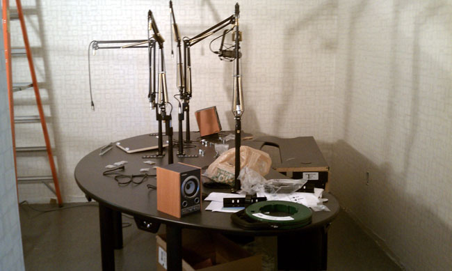 New WICC talk studio furniture