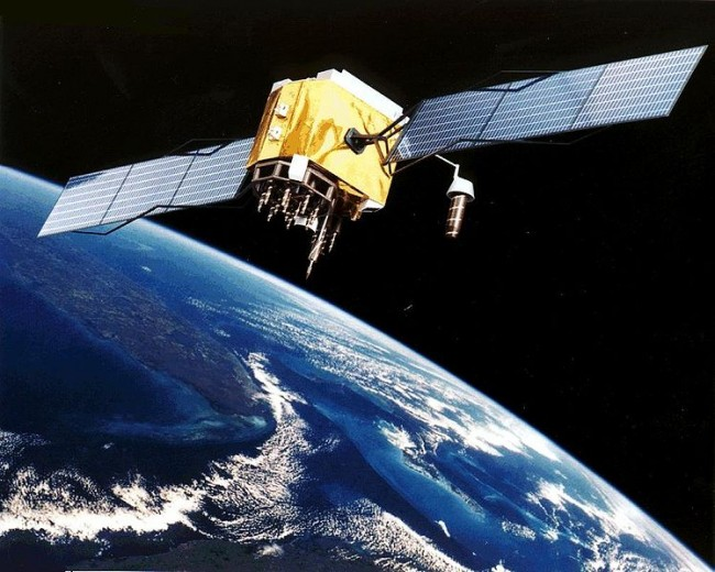 Block II GPS satellite