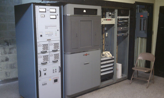WGHQ Nautel ND-5 transmitter