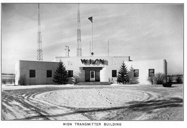 WISN transmitter site, 1941