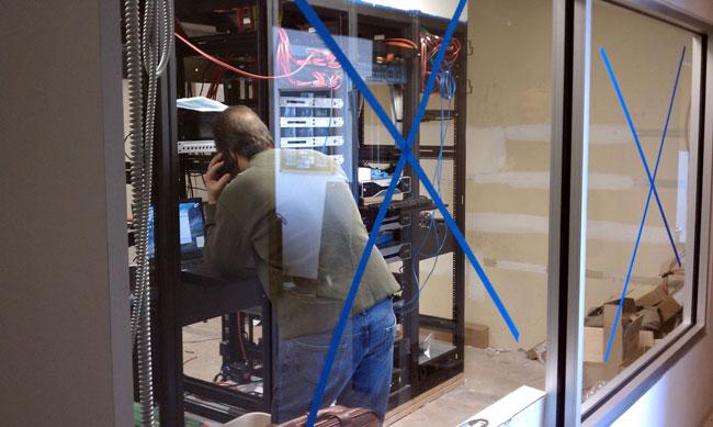 Cumulus Bridgeport new rack room