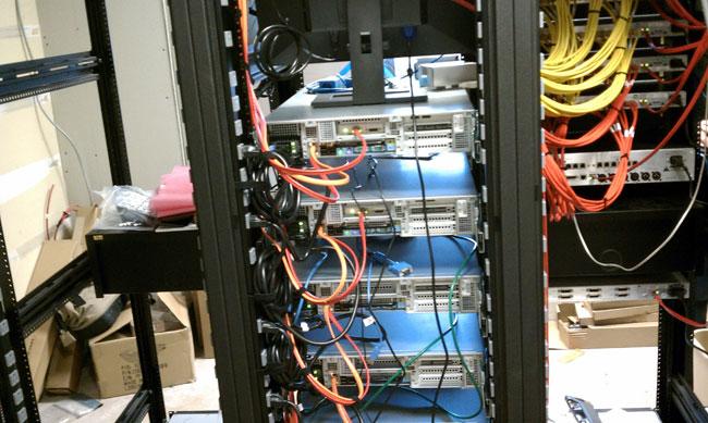 Cumulus Bridgeport Op-X servers