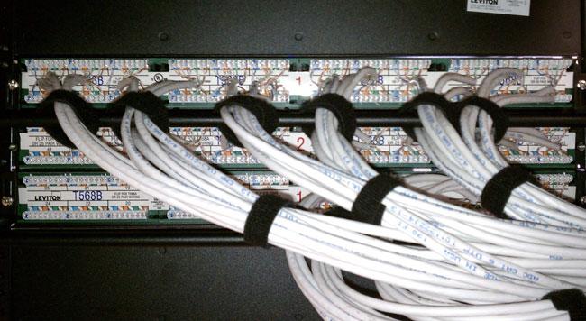 Cumulus Bridgeport network patch panel