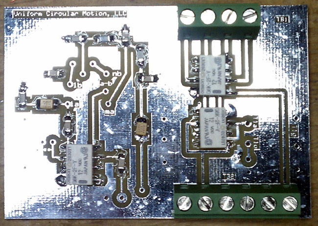K9AY loop antenna control board partial