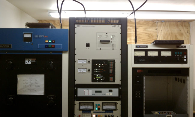 Broadcast Electronics AM1A transmitter