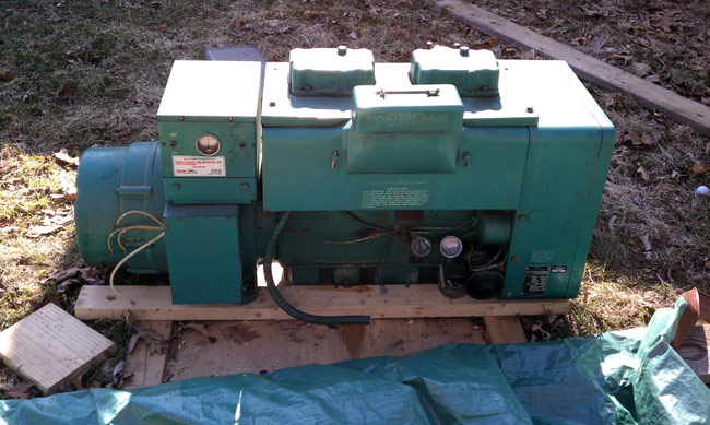 Overhaul of the Onan 12JC4R generator – Engineering Radio