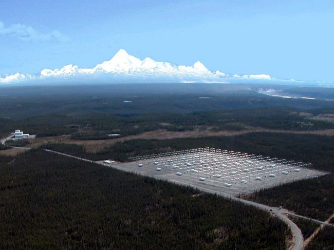 HAARP antenna array, Gakona, AK