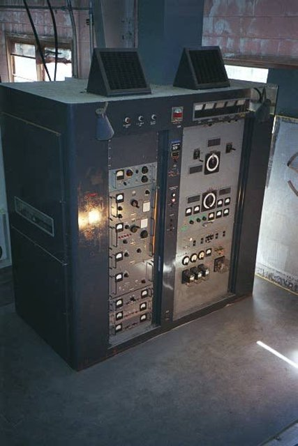 RCA H series HF transmitter, courtesy of MRHS