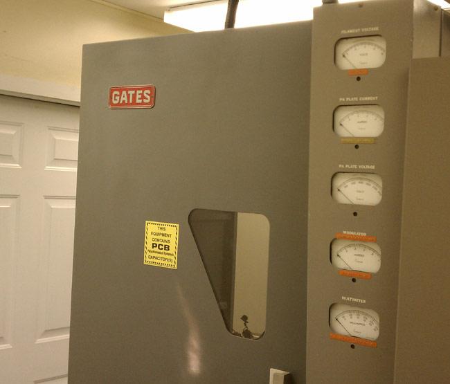 Gates BC1T transmitter