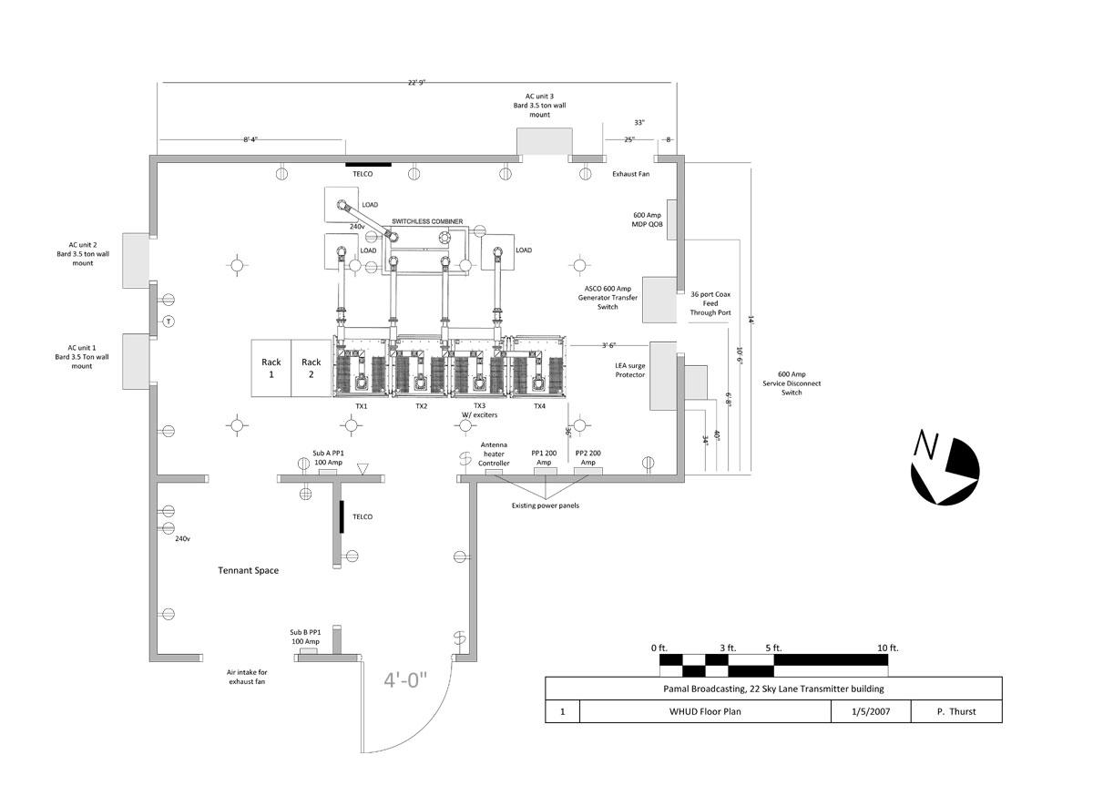 Fm Transmitter Site Design Engineering Radio Low Power Diagram Whud