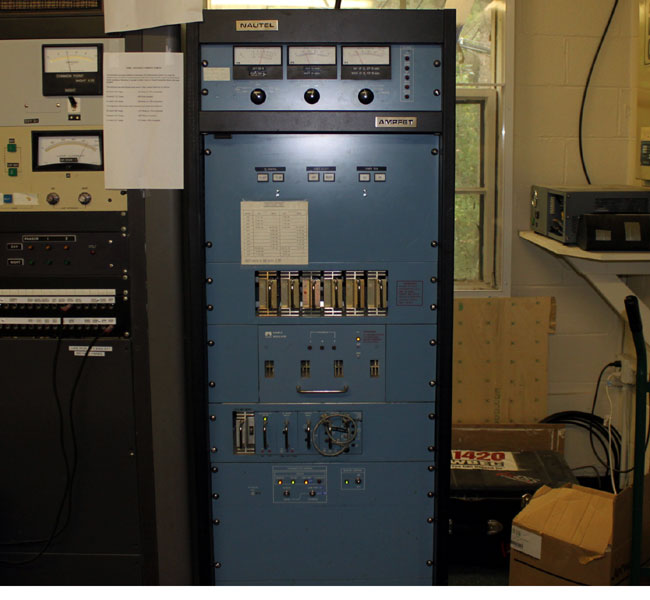 Nautel AMPFET 1 AM broadcast transmitter
