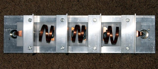 RVR three stage low pass filter