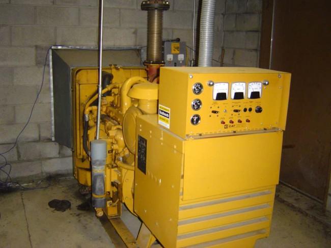 Caterpillar 75 KW diesel GENSET