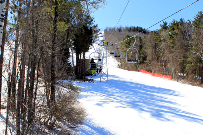 Bousquet Ski Area Chair lift