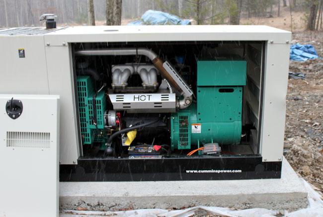 Onan GGMA20 propane generator