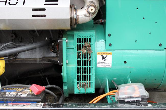 Mice and generator