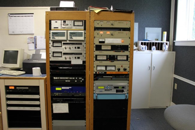WNAW-WUPE-FM equipment racks