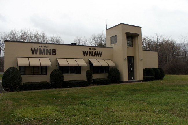 WNAW-WUPE-FM, North Adams, Ma circa 2012