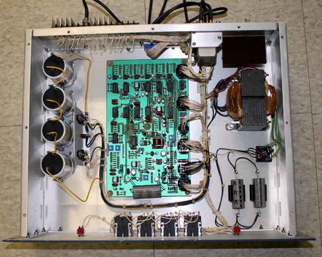Broadcast Electronics FW-30 exciter switcher innards