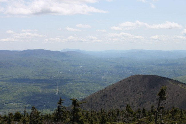 South view, Mount Equinox, Vermont