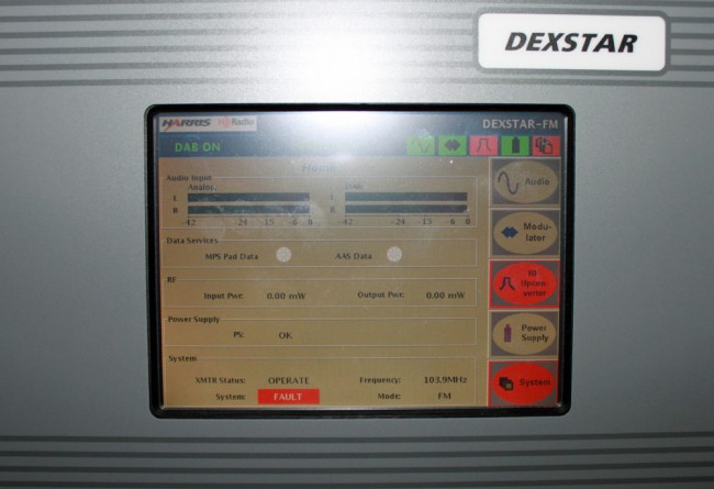 Harris Dexstar HD Radio exciter