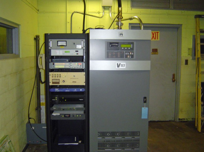 WBPM Saugerties, NY Nautel V-7.5 transmitter