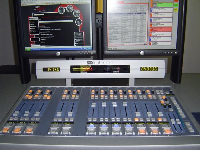 WHHZ studio console