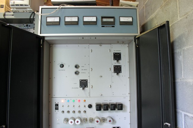 WKZE CCA transmitter, 42 years on