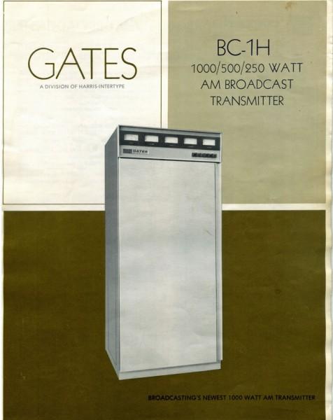 Harris/Gates BC1H AM transmitter