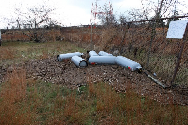 Propane tanks adrift