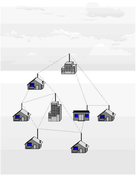 The neighborhood Mesh Network
