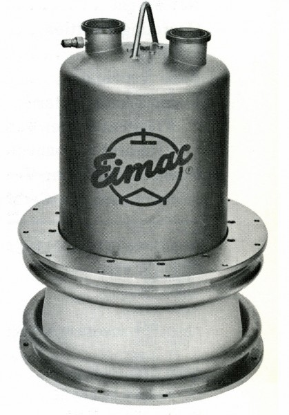 EIMAC X-2159 water cooled power tetrode