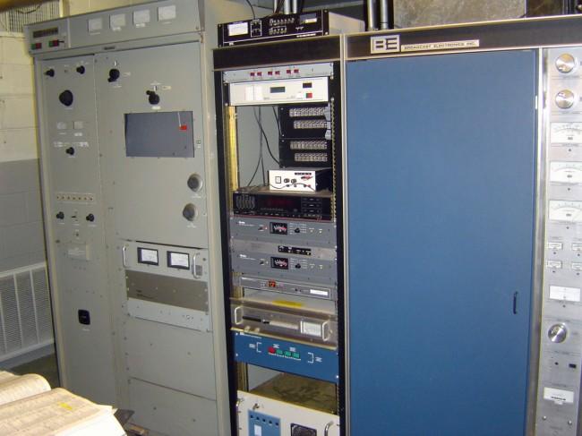 Harris FM20H transmitter, circa 1970