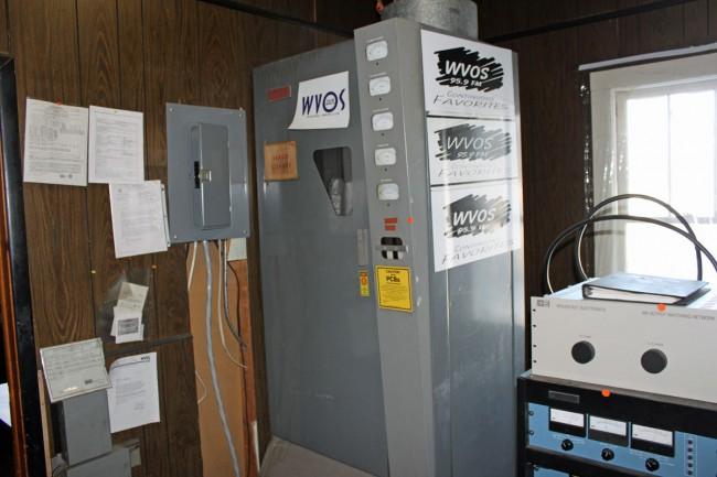 Gates BC1T transmitter, WVOS Liberty, NY