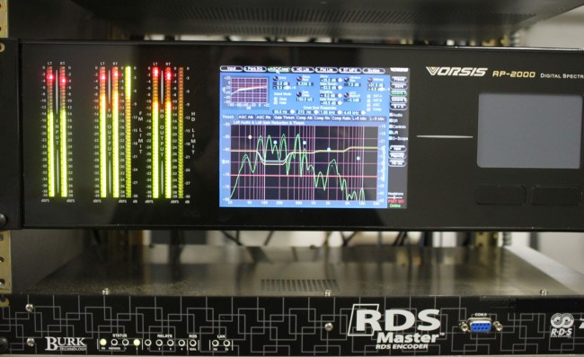 Wheatstone Vorsis FM processor
