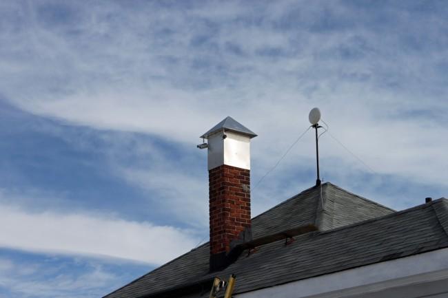 Transmitter site security cameras