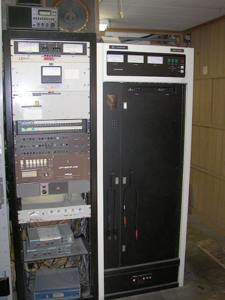 WSBS Harris SX2.5 transmitter, courtesy of NECRAT