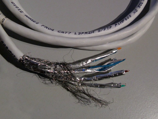 Category 7, STP ethernet cable