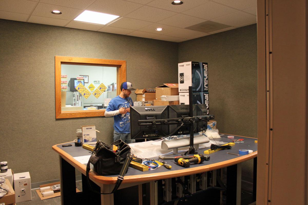 New studio project engineering radio for Studio furniture