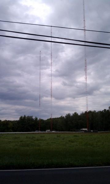 WDDY antena array, Albany, NY