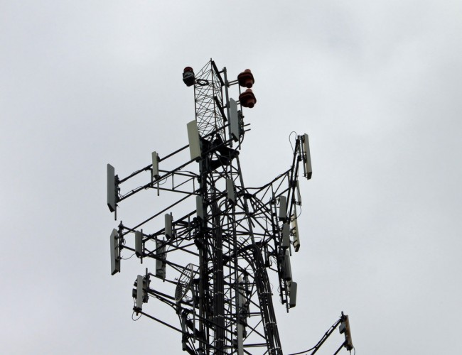 WDST antenna, Hallihan Hill, Kingston, NY